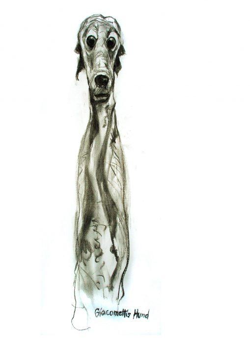 Giacomettis Hund